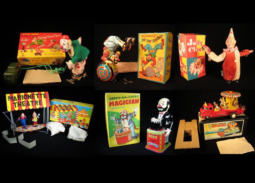 Clowns & Circus Toys