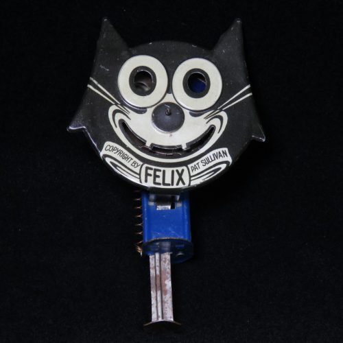 Vintage Antique Tin Lithograph Felix the Cat Sparkler Friction Toy Japan