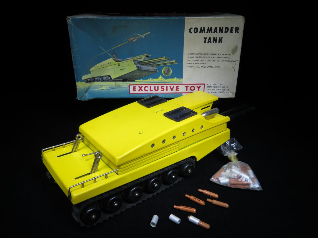 Commander Space Tank – Sears Exclusive – Japan – Mark Bergin